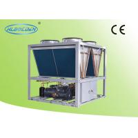 Quality Plate Fins Air Cooled Screw Chiller for sale