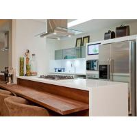 Buy cheap Villa Interior Kitchen Nano Glass Countertop Island Customized Size from wholesalers