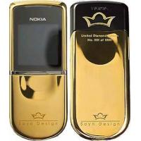 China Cellphone 8800 Sirocco  Diamond Edition Gold Color on sale