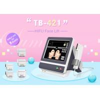 Best 4.5mm Cartridge HIFU High Intensity Focused Ultrasound For Face Lifting wholesale