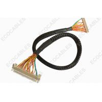 Quality Industrial 1.0mm LVDS Cable Assembly Twisted LVDS LCD Display Cable Harness for sale