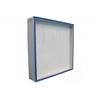 Buy cheap Medical GMP Gel Seal EN 1822 H13 / H14 HEPA Filter System For Clean Room from wholesalers