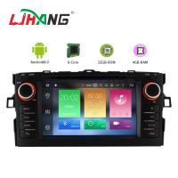 Quality Android 8.0 Toyota Car DVD Player With 7 Inch Touch Screen MP3 MP4 Radio for sale