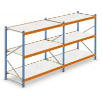 Quality BSCI Q235 Steel Wide Span Shelving 72x36x18 Inches For Retailer for sale