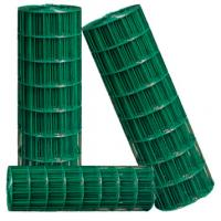 Quality Industrial Galvanized Welded Wire Mesh 2'' PVC Coated For Garden for sale