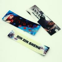 Quality Washable PET Film Heat Transfer Clothing Labels , Heat Transfer Fabric Labels for sale