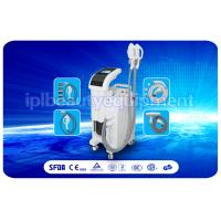 Quality 4 in 1 E-light ipl rf + nd yag laser multifunction beauty machine for hair removal for sale