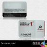 Best Advertising PVC Custom Die Cut Business Cards Sequential Number Printing wholesale