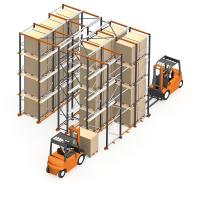 Quality Double Way Entry Heavy Duty Storage Racks For Warehouse / Factory for sale