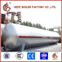 Quality 20 m3 Customized Bulk LPG Gas Storage Tank for filling station for sale