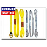Quality Private Label Multi - Layer Polyester Lifting Belts For Crane Logo Printable for sale