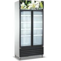 Quality Commercial Refrigerator Freezer LC-1000M2F , Vertical Showcase With Glass Door for sale