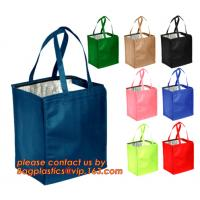 Quality FREEZABLE LUNCH BAG,INSULATION ALUMINIUM FOIL BAG,THERMAL THERMO COOLER TOTE BAG,BENTO PICNIC,FRESH for sale