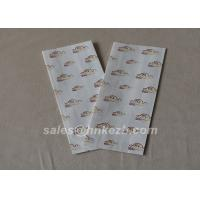 Quality Customzied Logo Flat Bottom Fast Food Paper Carry Bag Accessories Disposable for sale