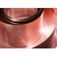 Quality 0.1mm X 20mm Silver Brazing Foil , Lightweight Durable Welding Copper Sheet for sale