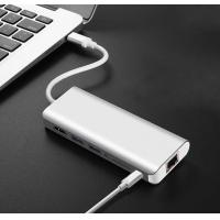 Quality Type-C hub adapter with HDMI USB 3.0 PD charging and data transfer for sale
