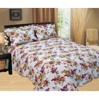 Best Durable Country Style Printed Quilt Set Hand Wash Natural Cotton Fabrics wholesale