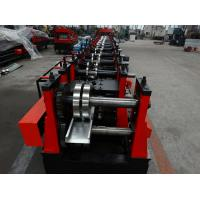Quality Fully Automatic Adjust C Purlin Roll Forming Machine With Pre-cutting Device for sale