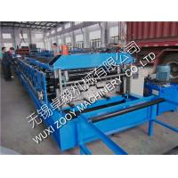 Quality 0.8-1.6mm Thickness Metal Deck Roll Forming Machine for sale