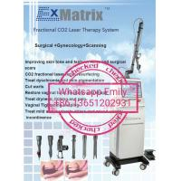 Quality Beijing Sincoheren FDA K and Medical CE approved Fraxel frational Co2 laser with vaginal tips for sale