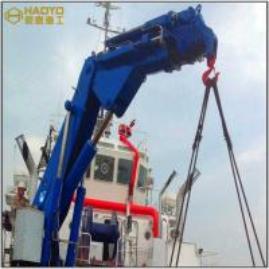 China Knuckle Boom Boat Lifting Electric Crane Manufacturer Marine Ship Deck Crane on sale