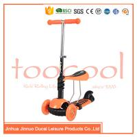 Quality chinese 3 wheel kids children multifunction 3 in 1 kick scooter for sale