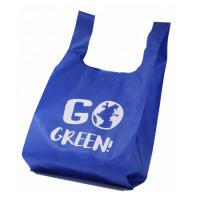 Buy cheap Non Woven Custom Reusable Grocery Bags U Cut Washable Customized Size from wholesalers