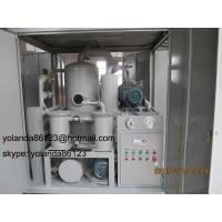 Quality Transformer Oil Purifier/Transformer Oil Purification Equipment/ Transformer Oil Filtration Unit for sale
