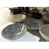 Quality Beige Vanity Stone Countertop Basin For Bathroom / Kitchen SGS Approved for sale