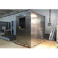 Quality SUS304 Stainless Steel Air Shower Room With H13 HEPA Filter for sale