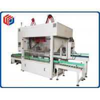 Quality Double Chain Wheel Automatic Case Packer Machine L 3800 - 4800 * W1600 * H2200mm Size for sale