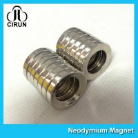 Multipole Radial Magnetization Neodymium Magnets Ring Shaped for Speaker