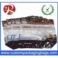 Quality Zipper Top Cherry Bag Fruit Packaging Bags Clear Plastic Bag for sale
