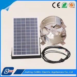 15W 12V Solar Powered Attic Fans Solar Ventilator For Home Use