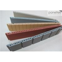 Quality Colorful Ceramic Exterior Wall Panels Products Reliable 300 * 800 * F18mm Size for sale
