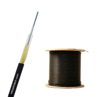 Quality Outdoor GYFXTY 12core G652D Non Metallic Optic Cable for sale