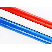 Quality High Strength Carbon Fiber Round Tube / Wearable Colored Carbon Fiber Pole for sale