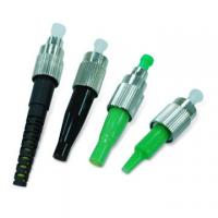 Best FC APC Fiber Optic Connector green out housing 2.0/3.0mm ISO9001:2015 certificate wholesale