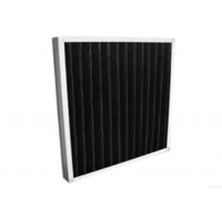 Quality Eradicate Odor Synthetic Fiber Filter / Mini - Pleat Activated Carbon Filters for sale