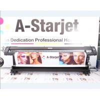 Quality 1.8M Eco Solvent Double Side Printer with Epson DX7 head for flex banner for sale