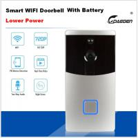 Quality Lower Power Smart WIFI video doorbell with battery for sale