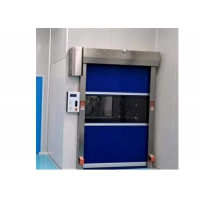 Quality Remote Control Clean Room Air Shower Tunnel With Fast Speed PVC Rollers Door for sale