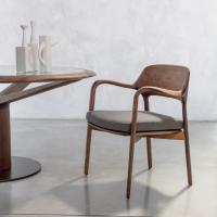 Buy Three Different Finishes Fiberglass Dining Chair Porada Ella Chair at wholesale prices