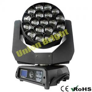 Quality Clay Paky B Eye K10 19X15W RGBW Moving Head Light with Matrix for sale