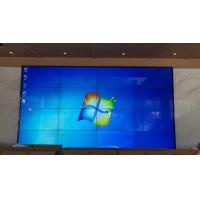 Quality Advertising Narrow Bezel LCD Video Wall Display Indoor 49 Inch HD 4k Resolution for sale