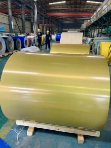 Quality 3004 PE Color Coated Aluminium Coil T8 Temper Fading Resistance for sale