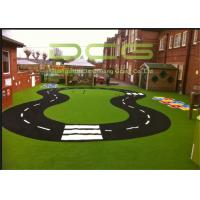 Quality Wall Decoration Realistic Looking Artificial Grass Landscaping Abrasion Resistance for sale