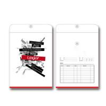 Quality Custom Logo Office Paper File , Ribbon Handle Kraft Paper Bag for sale