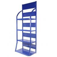 Quality Metal Supermarket Display Racks Easy To Assemble And Saving Space for sale
