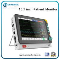 Quality 10 Inch Tabletop Medical Multi-Parameter Portable Patient Monitor Monitoring Vital Sign Monitor for sale